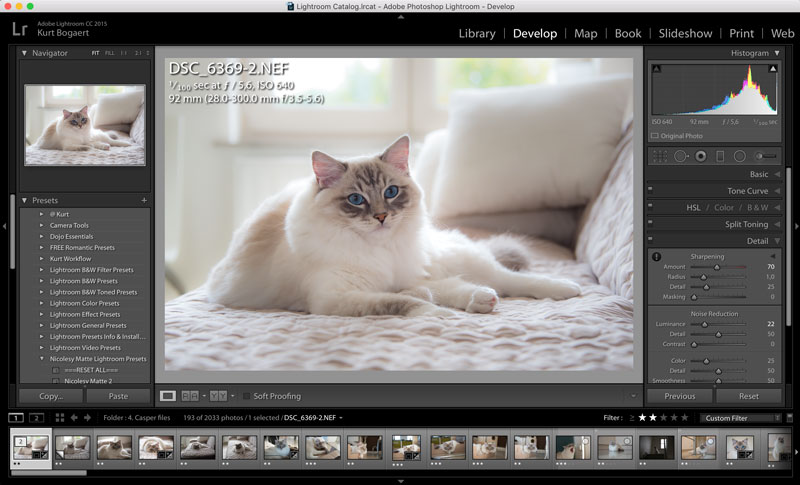 Adobe lightroom has become very important in my workflow lightroom-instagram-workflow-Iamcasper-cat-photography