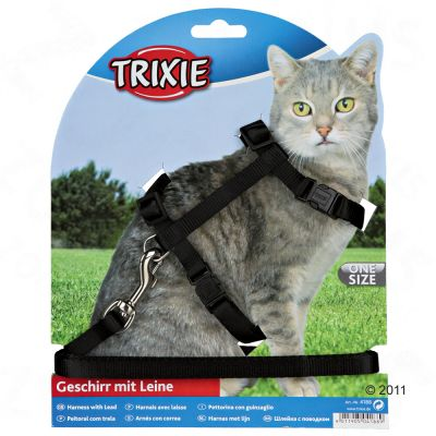 a very safe cat harness for walking your cat